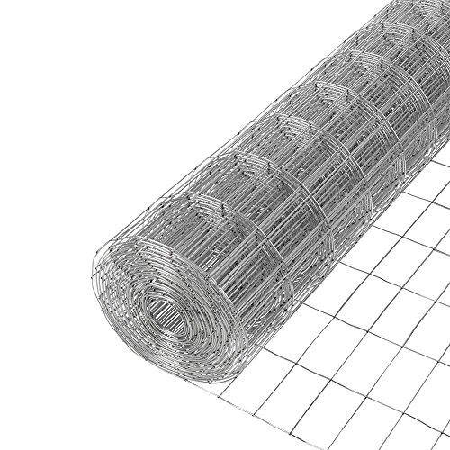 Fencer Wire 14 Gauge Galvanized Welded Wire Mesh Size 1 inch x 2 inch (3 ft. x 50 ft.)