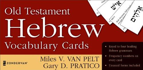 Old Testament Hebrew Vocabulary Cards (The Zondervan...