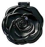 ヤマムラ ロマンチックローズコンパクトミラー ブラック(1コ入)