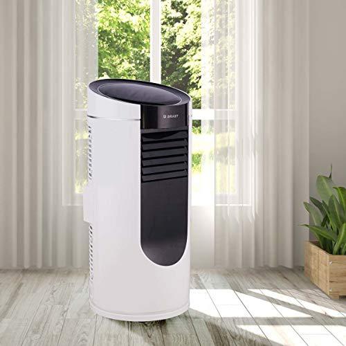 Mobile Klimaanlage EEK A 2,6kW | Räume bis 34 qm | Kühler und Entfeuchter | 9.000 BTU | Energieklasse A | BRAST