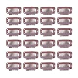 24 pcs/lot 32mm 9-teeth Hair