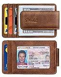 Zitahli Money Clip Wallet For Men,Front Pocket Card Holder Slim Wallet With Strong Magnetic,RFID...