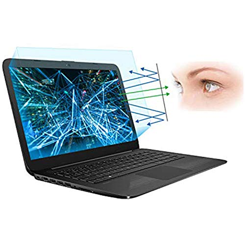 """2-Pack 14 Inch Screen Protector -Blue Light and Anti Glare Filter, FORITO Eye Protection Blue Light Blocking & Anti Glare Screen Protector for 14"""" with 16:9 Aspect Ratio Laptop"""