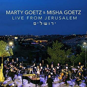 Marty Goetz & Misha: Live from Jerusalem