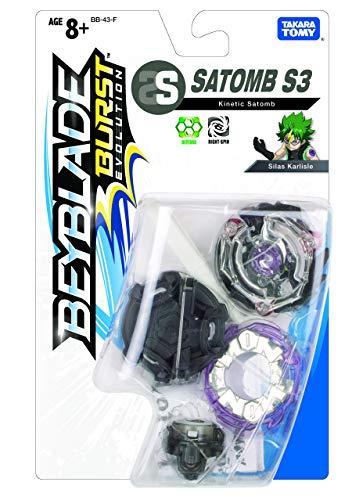 Takaratomy Plastic Beyblade Burst Evolution Kinetic Satomb, Multicolor
