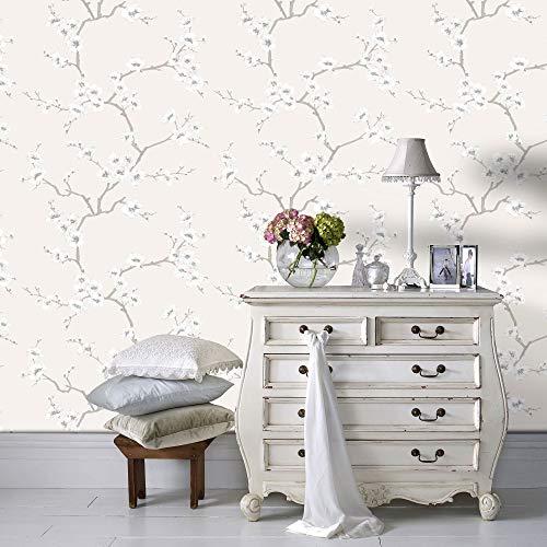 Fresco 51-067 Papel pintado, Cream/Brown