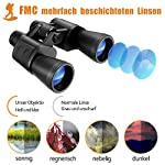 Binoculars, 10x50 Binoculars for Adults HD Compact Binoculars for Adults Bird Watching Kids Binoculars Waterproof 138m Field Of Vision and 1000m Distance with FMC & BAK4 Lens