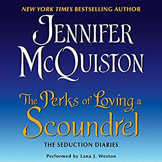 The Perks of Loving a Scoundrel audiobook cover art