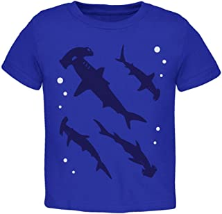 Animal World Hammerhead Shark Sharks School Toddler T Shirt