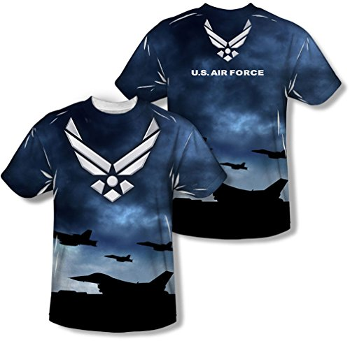Air Force - - Jeunesse Take Off (Front / Back Imprimer) T-shirt, X-Large, White