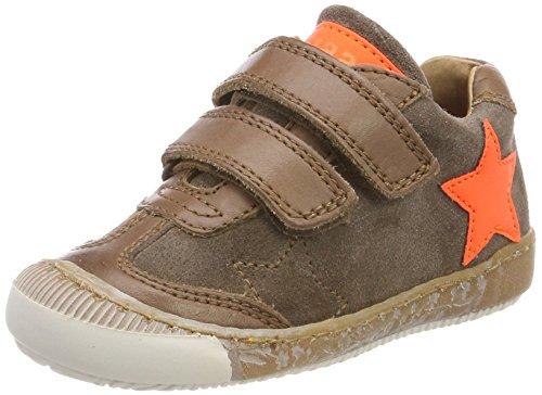 Bisgaard Unisex-Kinder Klettschuhe Sneaker, Braun (Taupe), 26 EU