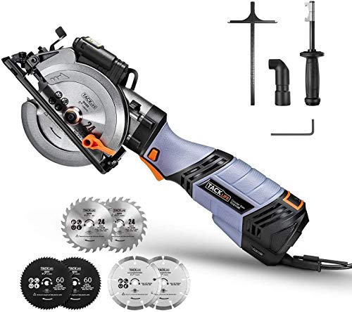 Circular Saw,TACKLIFE 750W Premium Mini Circular Saw with 6...
