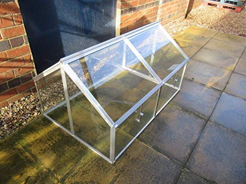 Hall Jumbo Cold frame with Toughened Glass