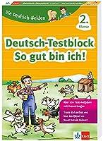 Klett Die Deutsch-Helden: Deutsch-Testblock So gut bin ich! 2. Klasse: Mit Punktesystem wie in der Schule fuer Tests, Klassenarbeiten, Lernzielkontrollen und Schulaufgaben