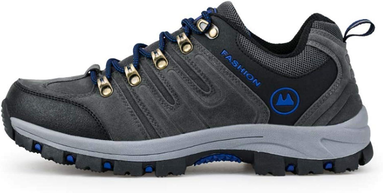 Men Hiking Footwear,Outdoor Non Slip Resistant Walking shoes Sneakers Warm Waterproof Hiking Boots MultiFunction Travel Mountain Boots
