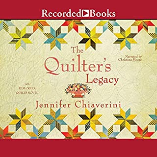 The Quilter's Legacy audiobook cover art