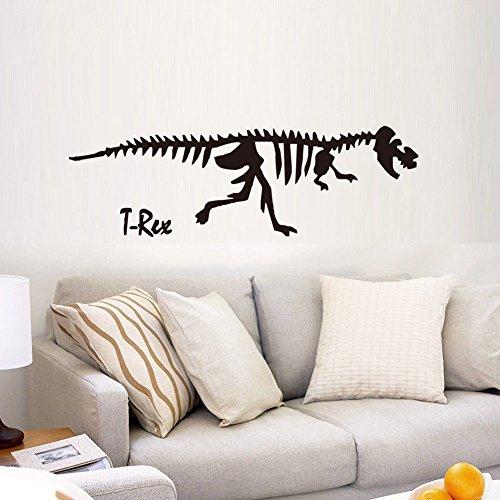 Pegatinas de pared Home 3Desqueleto de dinosaurio de la trama de fondo del sitio del cuarto de los niñospegatinas de pared57 * 26.5cm