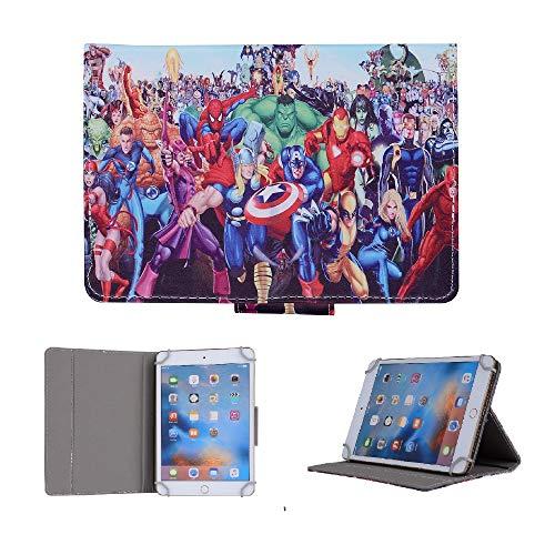 Kids Tablet Case For Lenovo Tab 4 8 PLUS ~ All Avengers Union Cover (Lenovo Tab 4 8 PLUS, All Avengers Union)