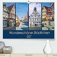Wunderschoene Staedtchen (Premium, hochwertiger DIN A2 Wandkalender 2022, Kunstdruck in Hochglanz): Ich will sie zu einem Treffen mit 12 wunderschoene Ortschaften einladen, wo Zeit ganz langsam laeuft. (Monatskalender, 14 Seiten )