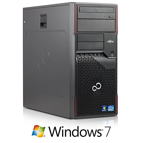 Fujitsu Celsius W410 Workstation PC (Core i5 Quad-Core 3.1GHz, 8GB RAM, 320GB HDD, DVD-ROM, Windows 7)