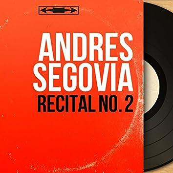 Récital No. 2 (Mono Version)
