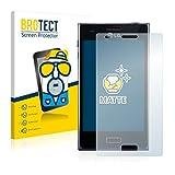 BROTECT 2X Entspiegelungs-Schutzfolie kompatibel mit LG Electronics E610 Optimus L5 Bildschirmschutz-Folie Matt, Anti-Reflex, Anti-Fingerprint