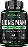 Best Brain Pills - Organic Lions Mane Mushroom Capsules Review