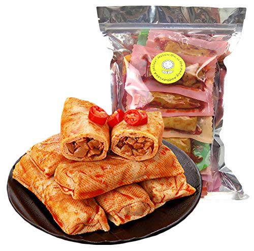 Szechwan Specialty: Spicy Dried Tofu with Mushroom or Crispy Bamboo Shoots Filling (Mixed Flavor)