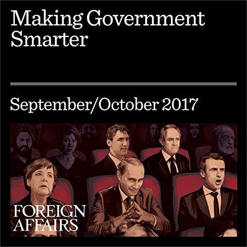 Making Government Smarter audiobook cover art