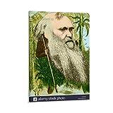 WSDSX Charles Darwin 8 Poster und Drucke, Leinwand,