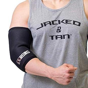 Sling Shot Mark Bell Strong Elbow Sleeves Black M