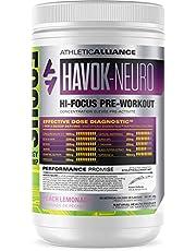 Athletic Alliance Havok-Neuro - Hi-Focus Pre-Workout Powder, 23 Servings