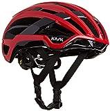 Kask Valegro - Casco para Bicicleta de Carretera, Unisex, Unisex Adulto, Color Rojo, tamaño M - 48/58cm
