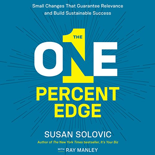 The One-Percent Edge audiobook cover art