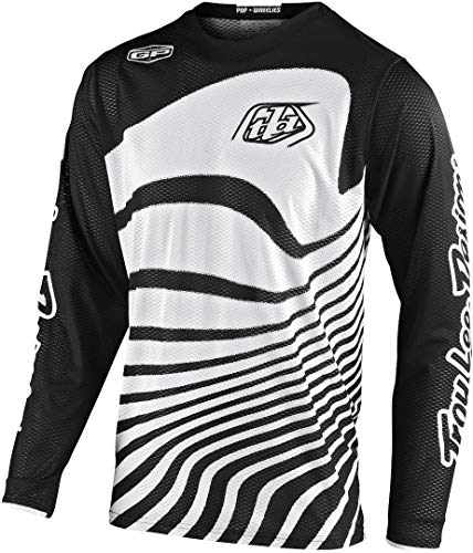 Troy Lee Designs GP Air Drift Motocross Jersey Weiß/Schwarz M