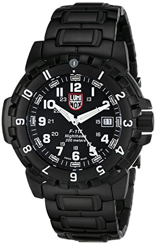 Luminox Men's A.6402 F-117 Nighthawk Analog Quartz Sapphire Glass Watch