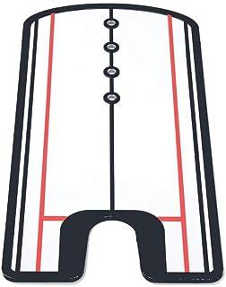 جولف أرجوحة ممارسة مستقيمة غولف الغولف مرآة وضع المحاذاة التدريب مساعد التأرجح خط العين اكسسوارات جولف 31 × 14.5 سم