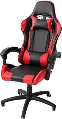 Ergonomics Leisure Office Gaming Gaming Chair Gaming Chair Ergonomic Office Chair Desk Chair with Lumbar Support PU Leather Executive High Back Computer Chair for Adults