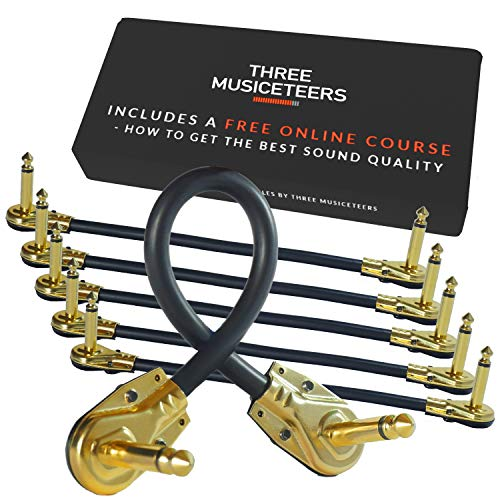 3. Guitar Patch Cables by The Three Musiceteers