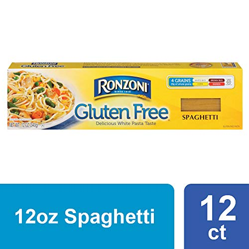 Ronzoni Gluten Free Thin Spaghetti, 12 oz (Pack of 12)
