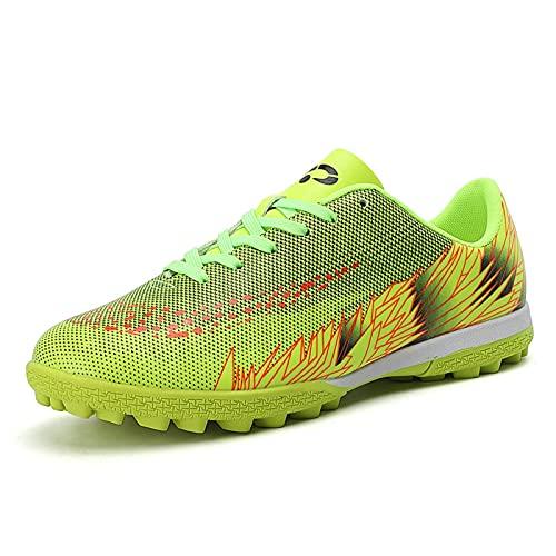 Zapatos de fútbol Unisex Zapatillas de Deporte Botas de fútbol Zapatos para césped Entrenamiento al Aire Libre Antideslizante
