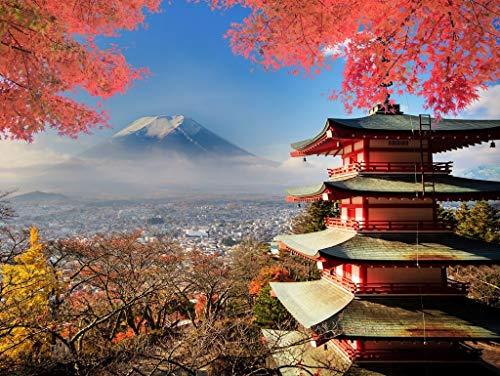 Lais Puzzle Monte Fuji Giappone in Colori Autunnali 1000 Pezzi
