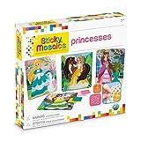 ORB Sticky Mosaics Princesses Peach/Pink/Teal/Purple, 12' x 2' x 10.75'