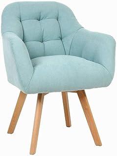 JJZXD Computer Chair Household Comfortable Fabric Sofa Chair Leisure Bedroom Desk Chair Office Chair Cheap