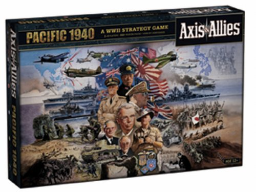 Milton Bradley 21745 - Axis & Allies Pacific 1940