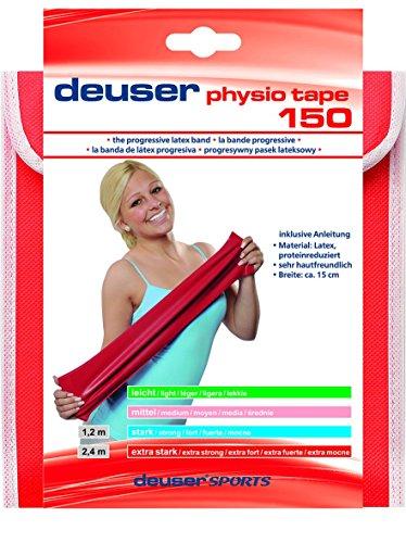Deuser Physio Tape 2, 40 m Physiotape, blau, One Size