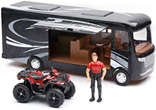 New Ray Toys Scale Model - Polaris with RV & Figure