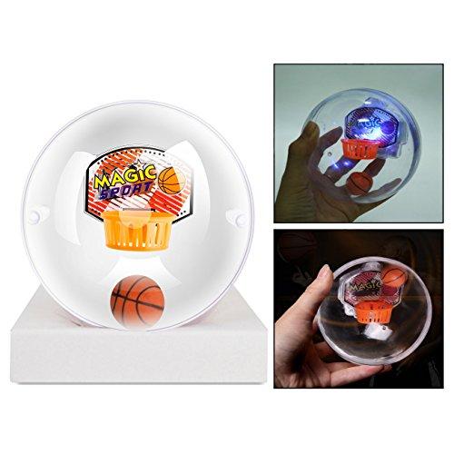 OFKPO Máquina de Tiro de Baloncesto de Mano con Luz y Música, Mini Baloncesto Shooting Ball Game Bolas de Juguete