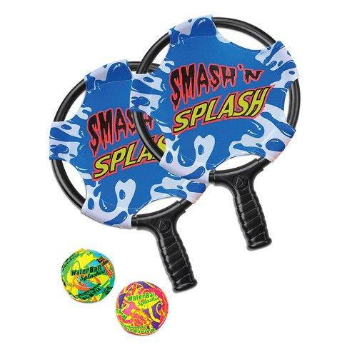 Poolmaster Smash 'n' Splash Water Paddle Ball Swimming Pool Game, 11' diameter