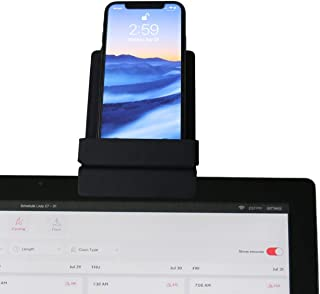 Peloton Phone Mount, Sits on Screen, No assembly/hardware required, Fits iPhone 11/11 Pro/Max, X/XR, 8/8 Plus, 7/7 Plus, m...